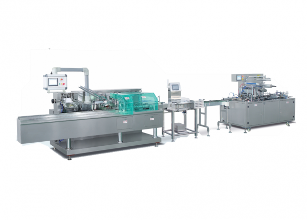 ZHB-80 End-of-Line Cartoning and Overwrapping Packaging Solution