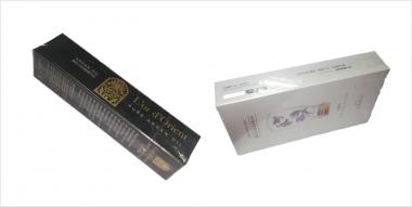 Cosmetics Cellophane Packing Machine