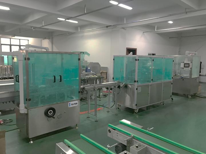 DZ-80BT Hookah & Shisha End-of-Line Packaging Solution