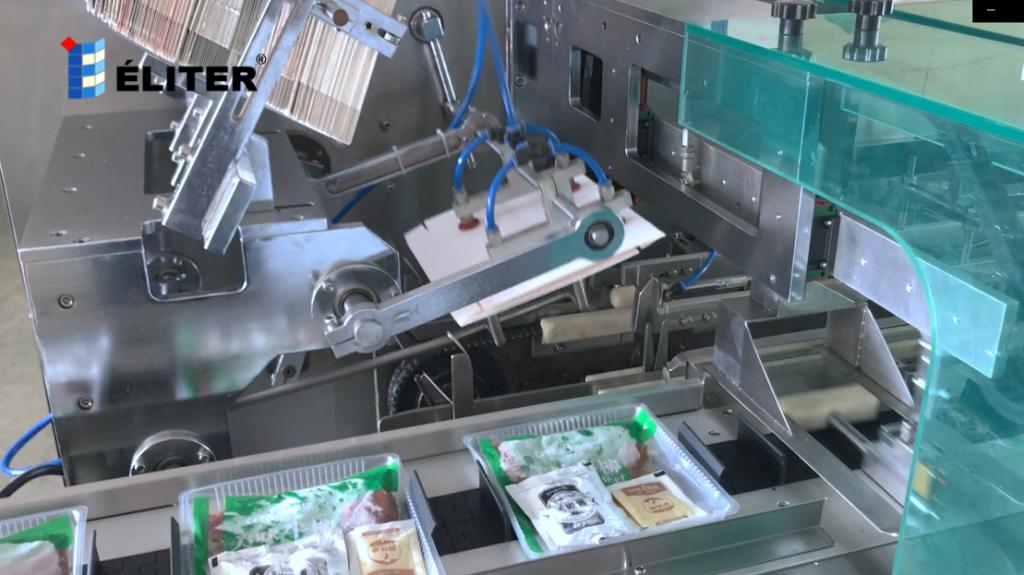 wraparound sleeve carton sleeving machine